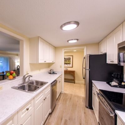 All Suites feature a full kitchen